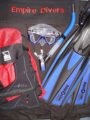 Basic Scuba Gear Package for Two