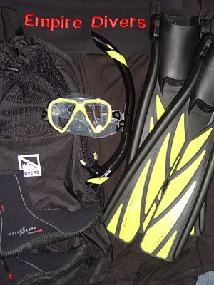 Premium Scuba Gear Package for Two